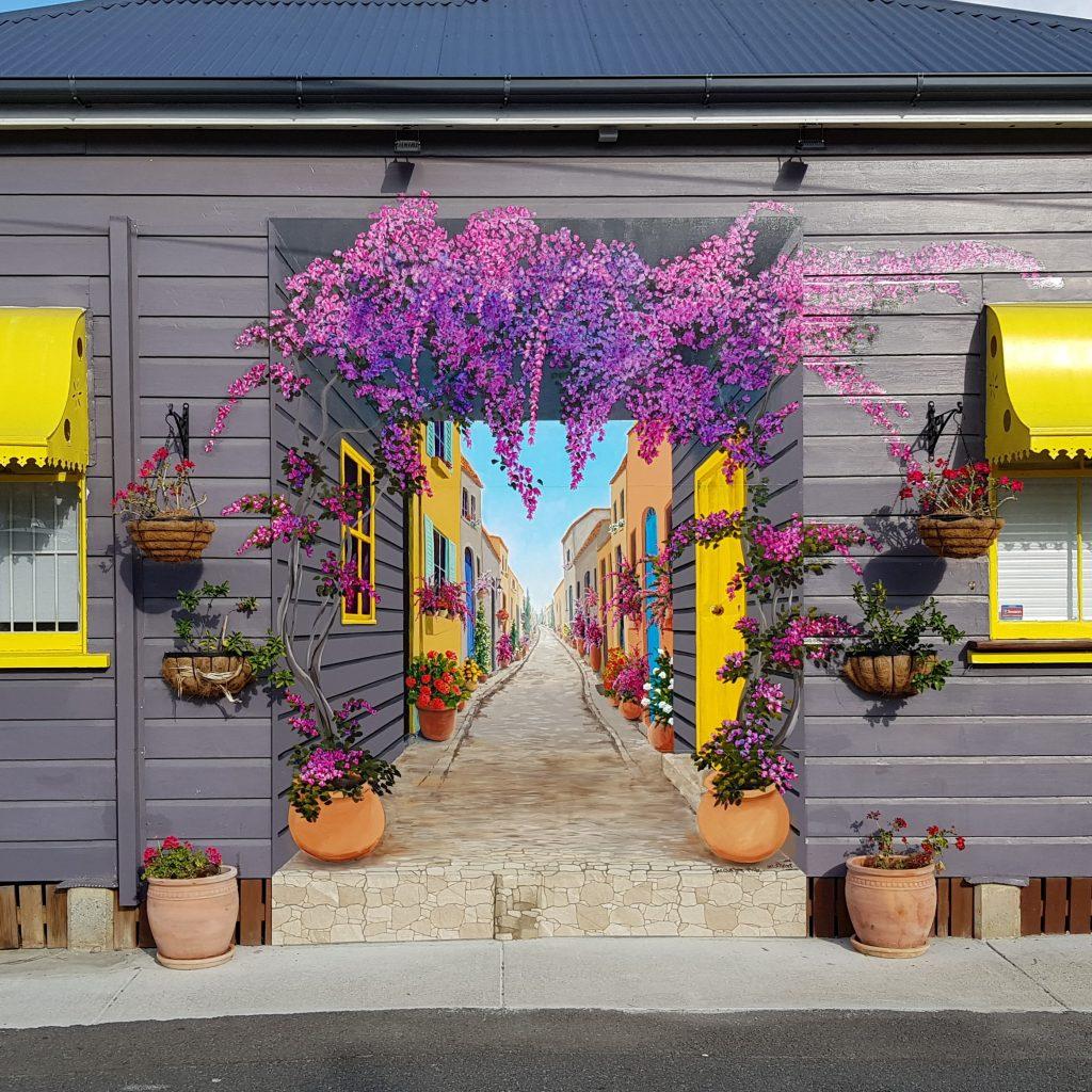 Trompe Tuscany Mural in Brisbane