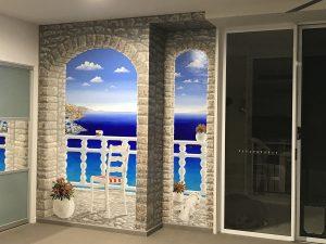 Trompe Santorini Finished