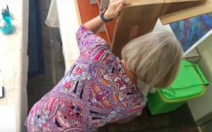 Artist at Work - Trompe Dollhouse