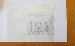 Trompe Alhambra Design sketch