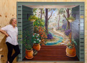 Trompe Bushland mural