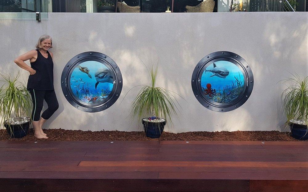 Trompe Aquarium Finished